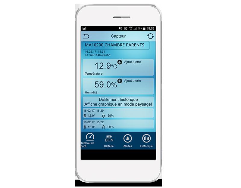 L'application Mobile Alerts - MA10200