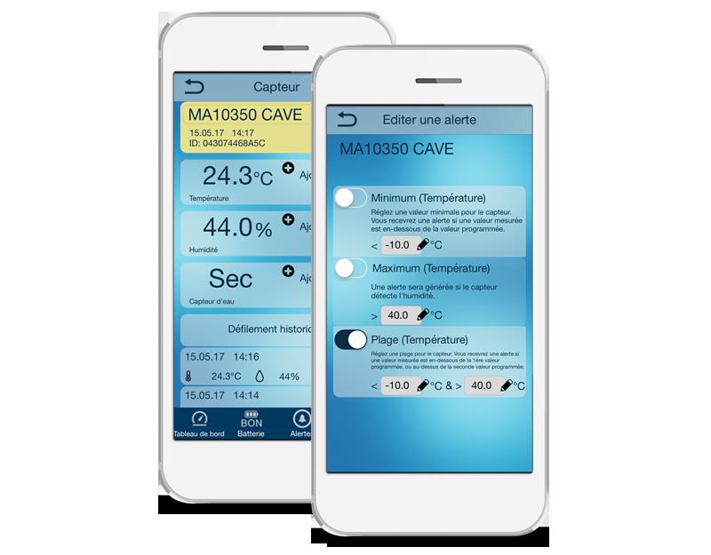 L'application Mobile Alerts - MA10350