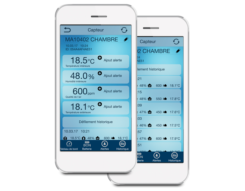 L'application Mobile Alerts - MA10402